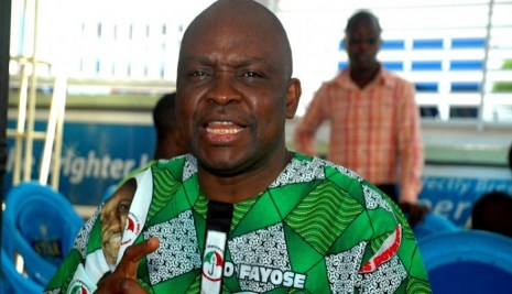 Fayose Fires At APC, Reveals How Buhari's Government Will Collapse