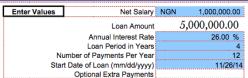 N5m loan