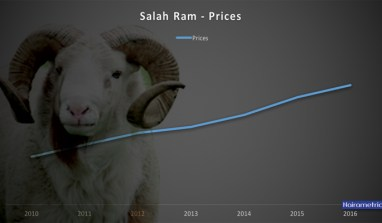 Ileya Ram Prices From 2010 – 2016