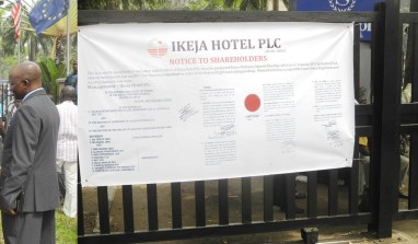Timeline of Ikeja Hotels board room crisis