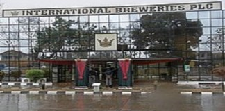 International Breweries financial statement, International Breweries revenue, International Breweries on Nigerian Stock Exchange, International Breweries shares, International Breweries Plc