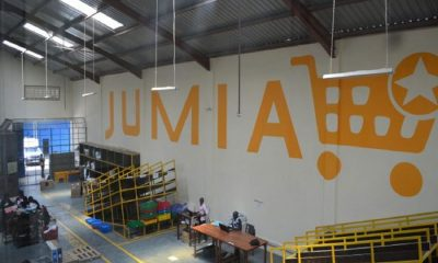A Jumia warehouse, Police, Castle Logistics