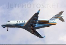 2009 Bombardier model BD-100 Source: JetPhotos.