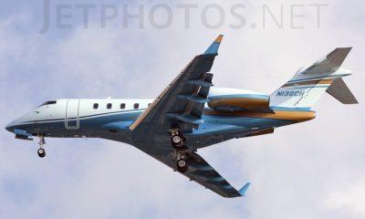 2009 Bombardier model BD-100 Source: JetPhotos.