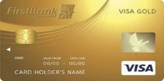 Firstbank Visa Gold Card