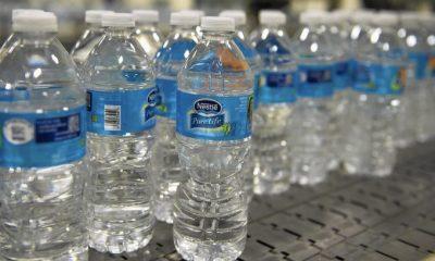 Nestle Pure life bottled water.