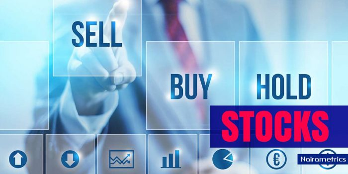 Daily Stock market report, Nigerian Stock market