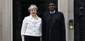 Theresa May and Buhari