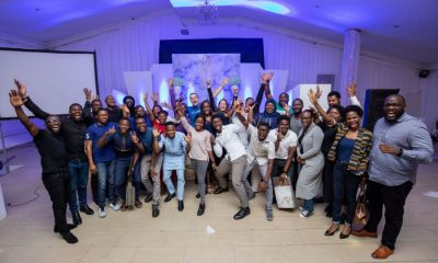 Andela executives with launching developers