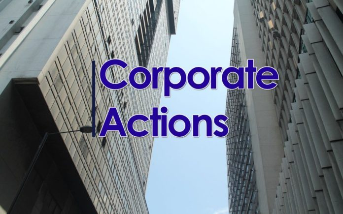 Corporate Actions - Nigerian Stock Exchange - NSE