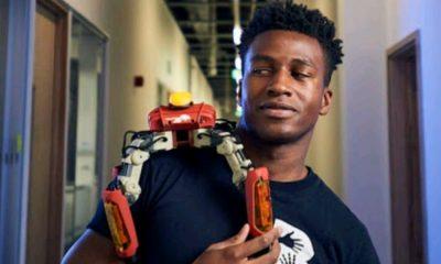Silas Adekunle, Robots