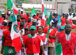 Nigeria Labour congress, new minimum wage