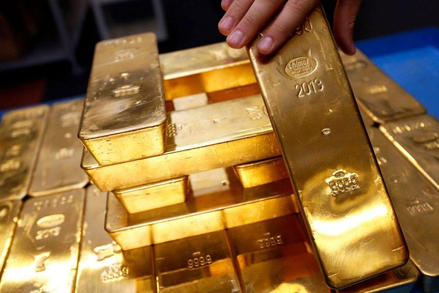 Gold spot prices plunge as U.S releases impressive economic data