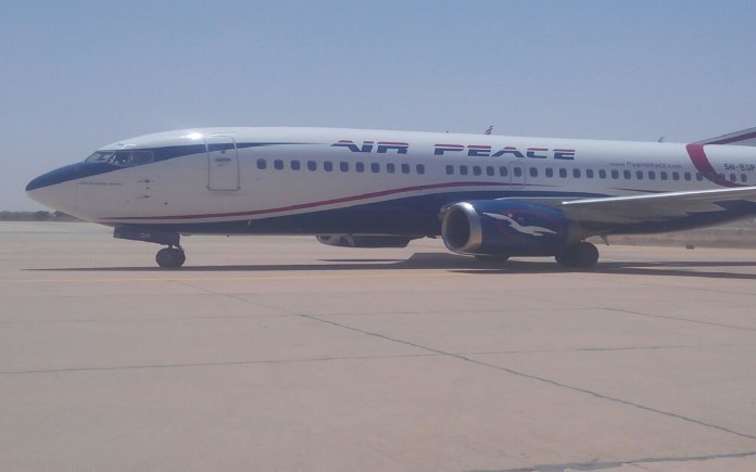 Air Peace, Domestic airlines protest against Emirates Airline, Airline Operators of Nigeria, Air Peace becomes Nigeria's national carrier, Air Peace Dubai flight,