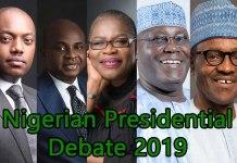 2019 Presidential Debate