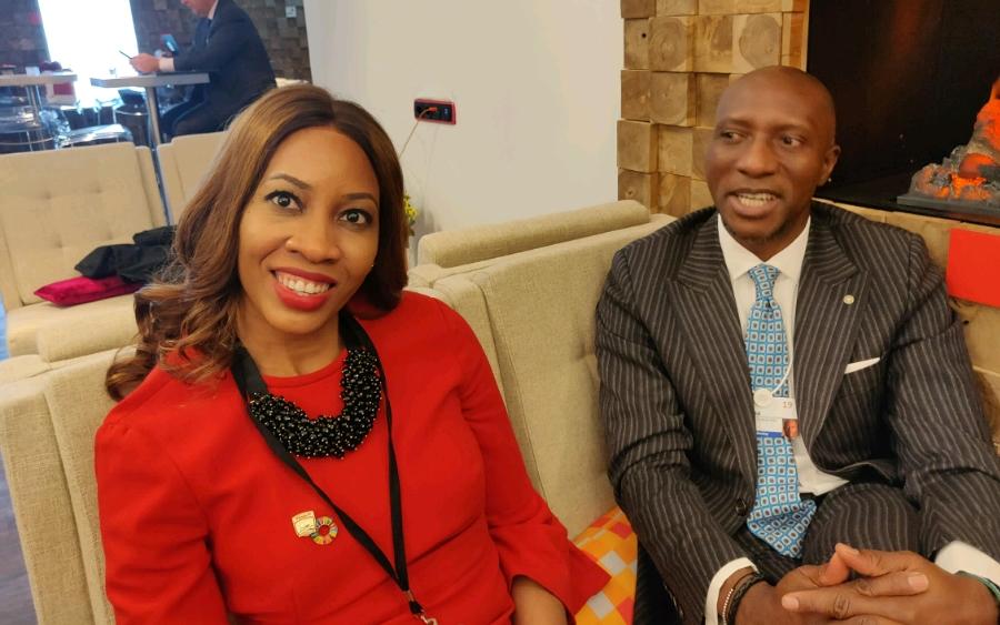 Sahara Group, Oscar Onyema - NSE CEO urges higher governance standards at WEF, commends Sahara Group on SDGs
