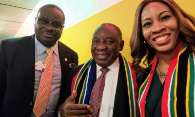 South Africa, Sahara Group explore collaboration on energy in Davos