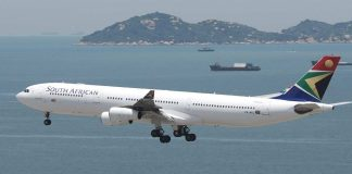 South African Airways, Africa World Airlines, Interline agreement, Codeshare