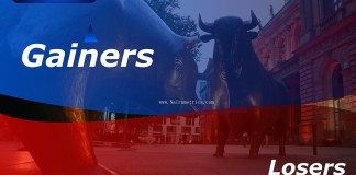 NSE, Gainers and Losers, Nigerian Stock exchange