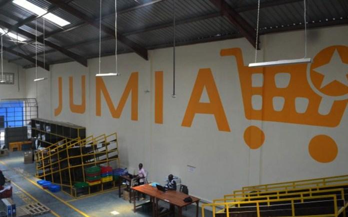 Jumia listing, MTN