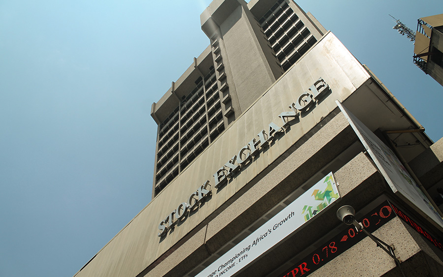 Trading on Nigerian equities has dropped by 44%