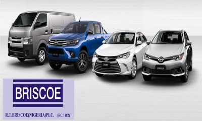 Briscoe Nigeria Plc, R.T. Briscoe's revenue drops, as sales of Toyota and Ford fall by 21% in Q1 2020