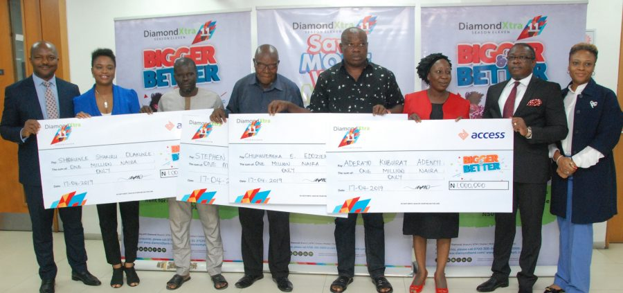 Access Bank rewards winners of Diamond Xtra monthly draw
