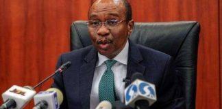 Godwin Emefiele, CBN Governor,