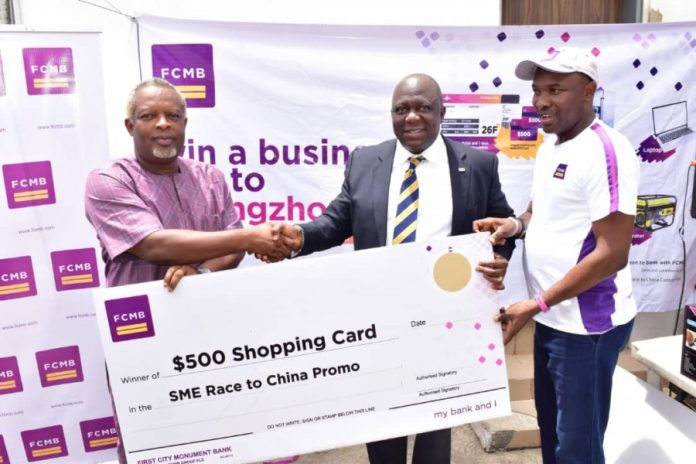 """FCMB empowers more SME customers in Season 2 of """"Race to China Promo"""