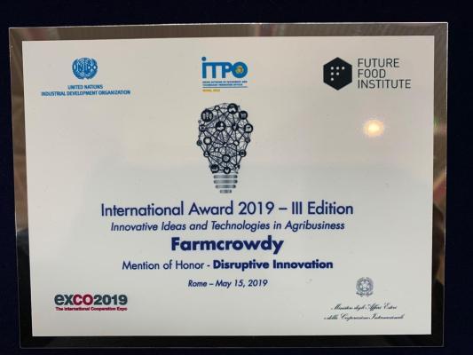 Farmcrowdy award