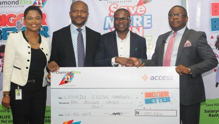 DiamondXtra draw, Access Bank and Diamond Bank merger