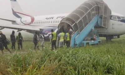 Air Peace plane incident in Port Harcourt International Airport