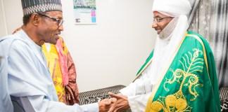 Emir Sanusi and Buhari, CBN, Central Bank of Nigeria