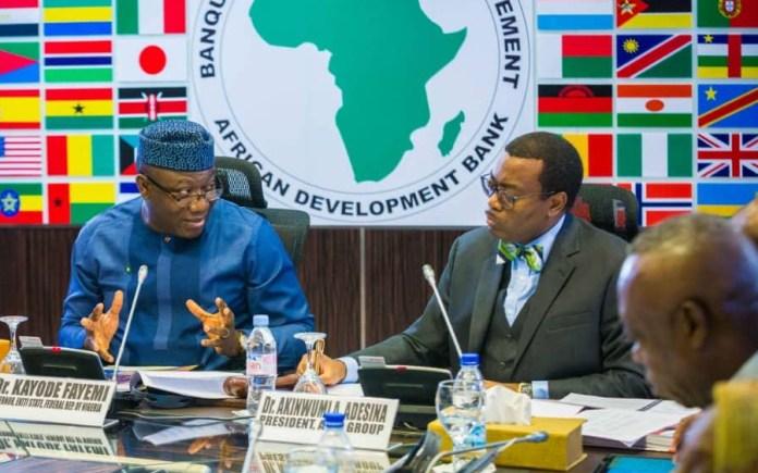 Ekiti state, Kayode Fayemi, African Development Bank (AfDB)