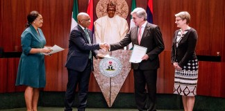 Buhari signs Siemen's deal, Nigeria-Siemens electricity deal