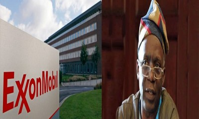 ExxonMobil debt of N684 billion for oil blocks renewal, Femi Falana petition against ExxonMobil, SPIP and ExxonMobil debt claims