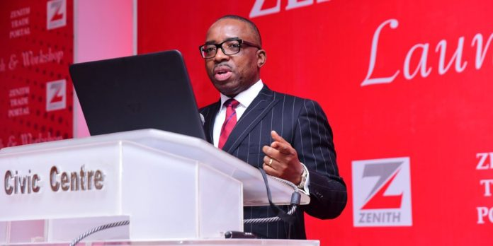 Zenith Bank GMD Ebenezer Onyeagwu, Central Bank of Nigeria, CBN's loan-to-deposit ratio policy, Nigerian Stock Exchange NSE stocks, Banks in Nigeria, Deposit Money Banks in Nigeria