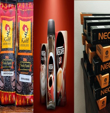 Kaldi Africa, Nescafe, Nestle products, Cafe Neo, Coffee products in Nigeria