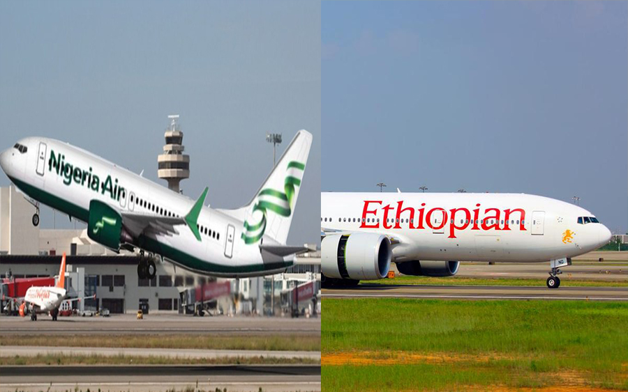 Ethiopian Airlines plans to become Nigeria's national carrier, Nigeria's national carrier Nigeria Air, Ethiopian Airlines crashes