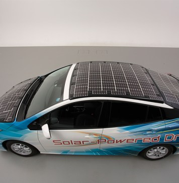 Electric car market, Electric car companies, Toyota solar electric cars
