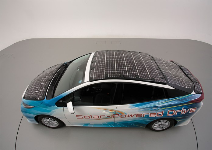 Toyota Electric car market, Electric car companies, Toyota solar electric cars