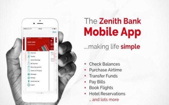 Zenith Bank upgrades Iits Mobile Banking application