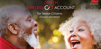 Zenith Bank Timeless Account