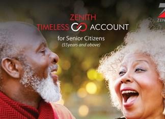 Zenith Bank Timeless Account