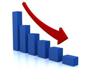 falling market