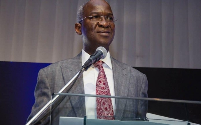 BPP statements on inflated contracts, misleading - Fashola alleges  , FG to construct, fix 14 roads with N166 billion , FG returns tollgates sixteen years after Obasanjo scrapped it from federal roads, Fashola makes case for VAT, drums support for 2020 budget, Nigeria to benefit from UNIDO's $60 million investment in trade, others