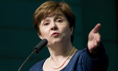 Kristalina Georgieva, IMF boss hints at 'synchronized slowdown' in global growth , IMF: 40% of African countries can't pay back their debts , Nigeria worse off, posts grows lower than LIDC benchmark - IMF, Measures introduced by Nigeria to ensure transparent use of the $3.4b IMF loan
