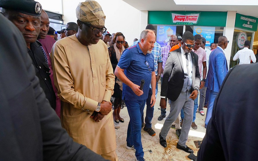 Xenophobic attack: 5000 people lost their jobs toshopping mallattacks -GovernorSanwo-Olu