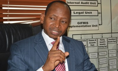 FG records revenue of N676.41 billion in July, AGF launches Committee on Financial Transparency Guidelines and Open Treasury Portal, Office of Nigeria's Account General is reportedly engulfed in flames, Auditor-General, Accountant-General, grants, FAAC disburses N327.68 billion to States and LGAs in September, as allocation drops again,
