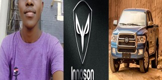 Nigerians react as Innoson set to change logo after losing design contest to UI student